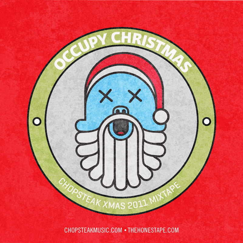 Occupy Christmas Mixtape Cover