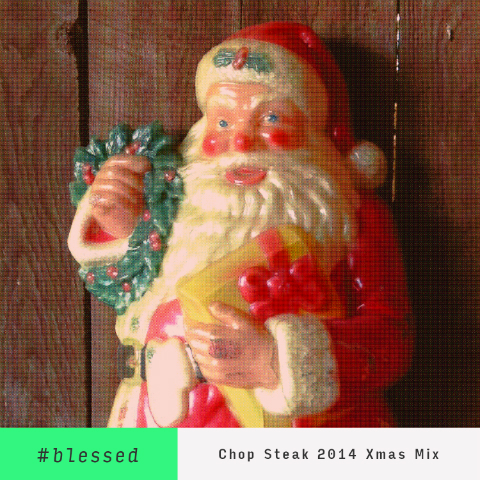 #Blessed Christmas Mixtape 2014 Cover Art